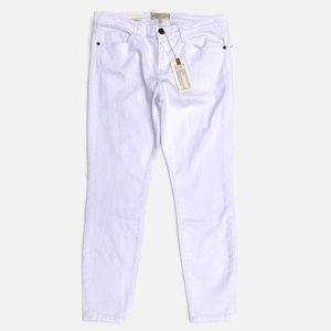 Current/Elliott The Stiletto Skinny Jeans White 30